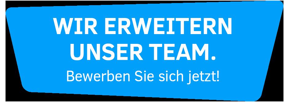 Wir erweitern unser Team!